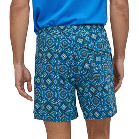 """Patagonia Stretch Wavefarer Volley Shorts 16"""" Men honeycomb small/seaport"""